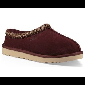 Brand New UGG Men's Tasman Slipper Burgundy Suede